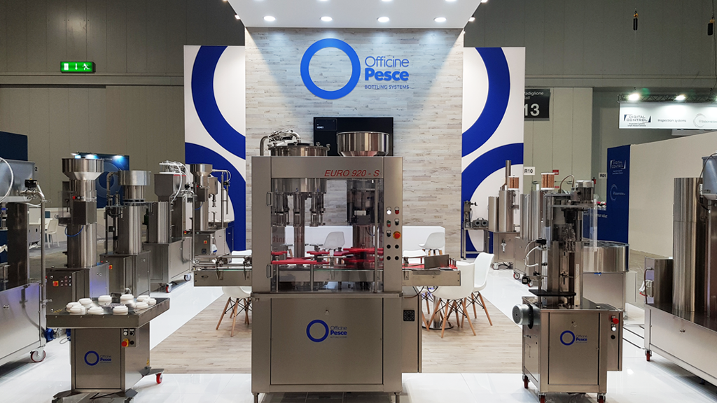 OFFICINEPESCE-stand-SIMEI-expo-2019-design-connectdesign-agency-milano-tradeshow-fiere-allestimento-1